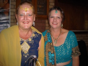With my wonderful friend Jacqui Cousins who attended for the first time and absolutely loved it.