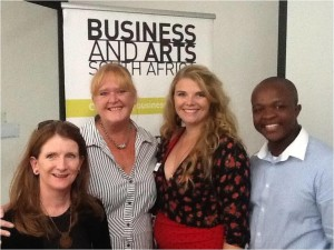 With Sharlene Versveld, Lindie Lila and Kwazi Ngubane at a BASA Durban workshop